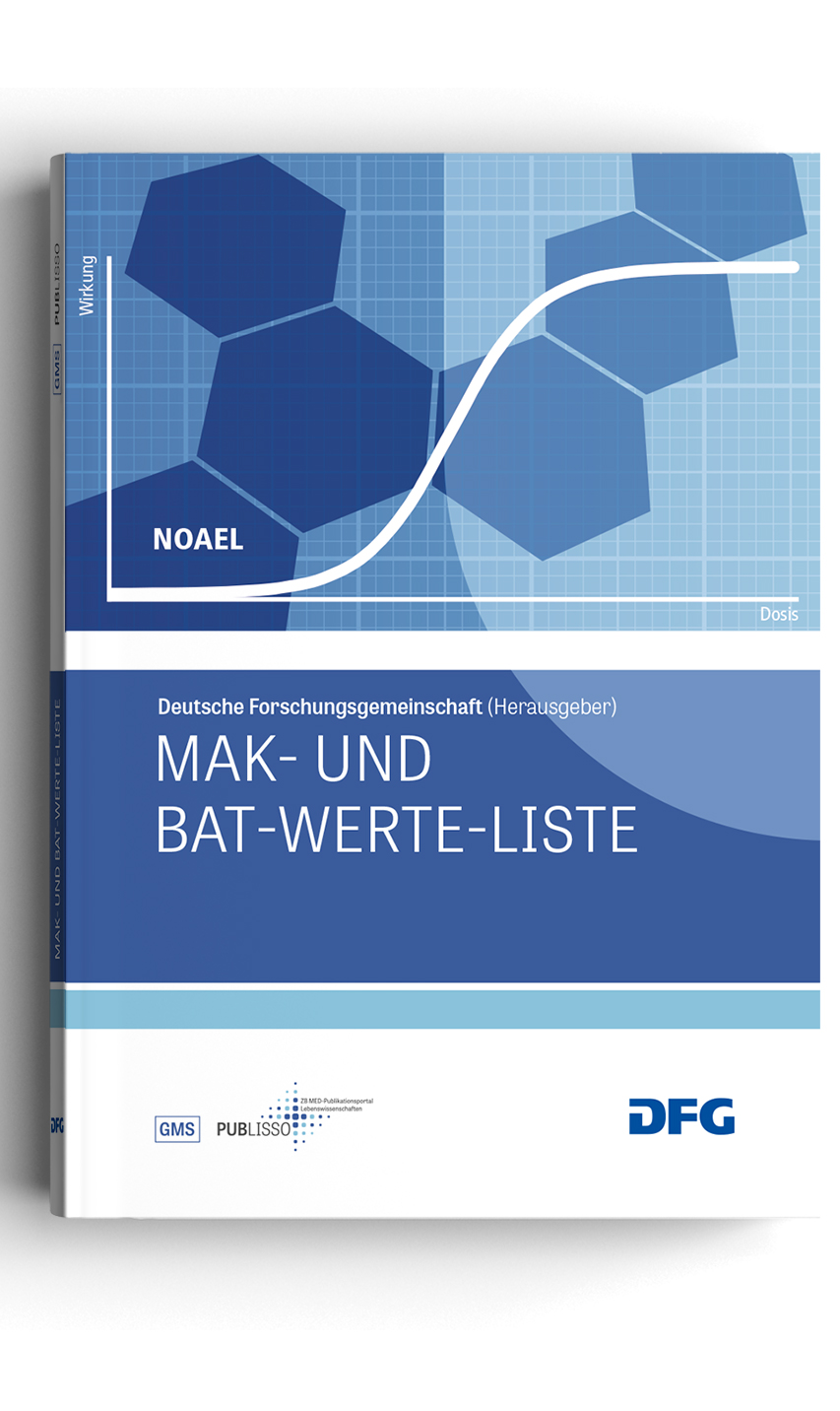 Cover: List of MAK and BAT Values
